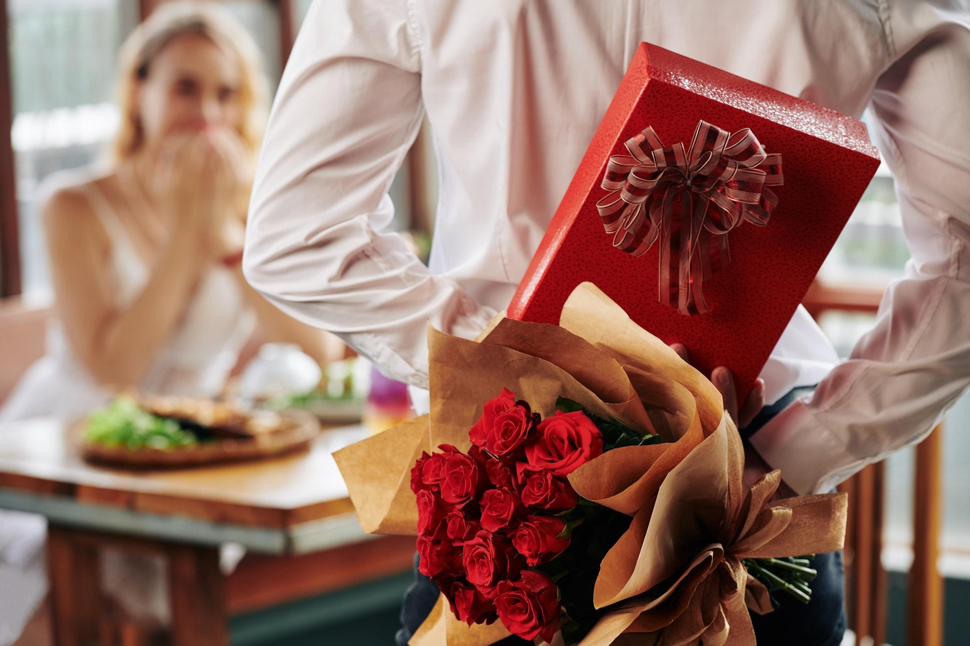 Romantic birthday surprise